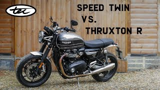 8. Speed Twin Vs. Thruxton 'R' - New Parts Available