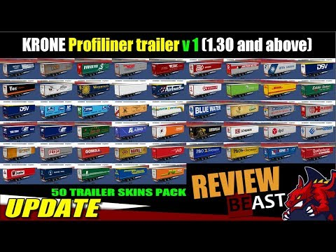 Trailer Krone Profiliner v1.0 1.30