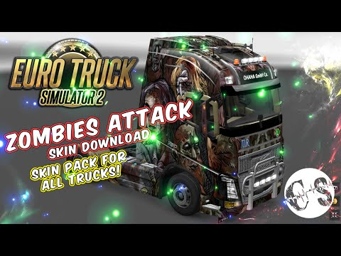 Zombies Attack Skin Pack for All Trucks