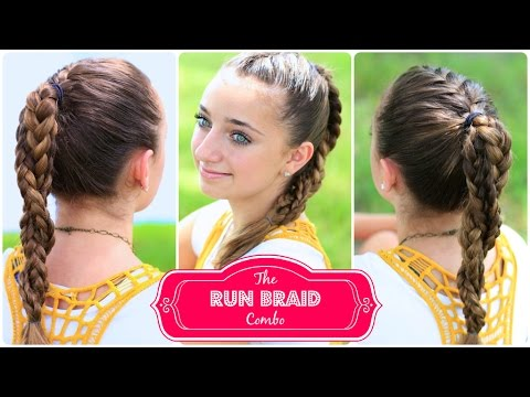 The Run Braid Combo %7C Hairstyles for Sports