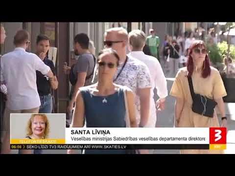 TV3 saruna ar Sabiedrības veselības departamenta direktori Santu Līviņu par epidemiologu aicinājumu iedzīvotājiem