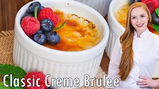 Classic Creme Brulee by Tatyana's Everyday Food