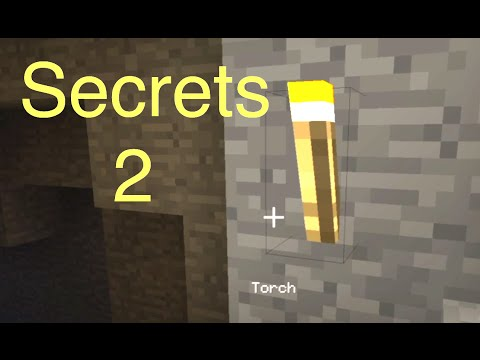 Minecraft: Secrets 2 – Torches and Iron Ingots (Tips for PS4)