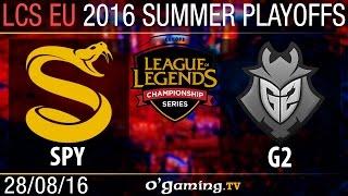 Grande finale - LCS EU Summer Split 2016 - Playoffs