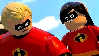 Incredibles 2 Full Movie Game Lego Playthrough【TRUE HD】1080p