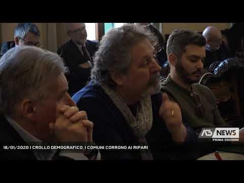 18/01/2020 | CROLLO DEMOGRAFICO, I COMUNI CORRONO AI RIPARI