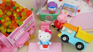 Video Hello Kitty mini shop and orbeez car toys with baby doll play MP3, 3GP, MP4, WEBM, AVI, FLV Juni 2017