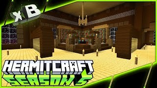 THE LIBRARY! :: HermitCraft Season 5 :: Ep 16