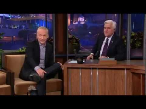Bill Maher on The Tonight Show with Jay Leno - Must watch this!