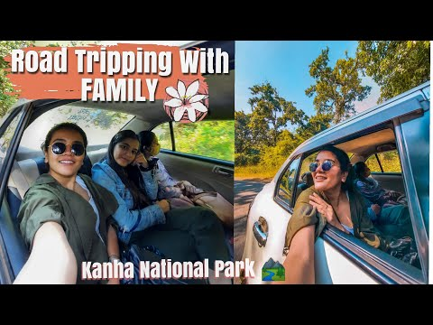 Road-trip To Kanha National Park with Family After Lockdown | Staying in Kanha Jungle Camp Mukki 🌳🐾