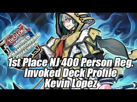 1st Place Kevin Lopez's Invoked Deck Profile New Jersey 400+ Person Regionals!