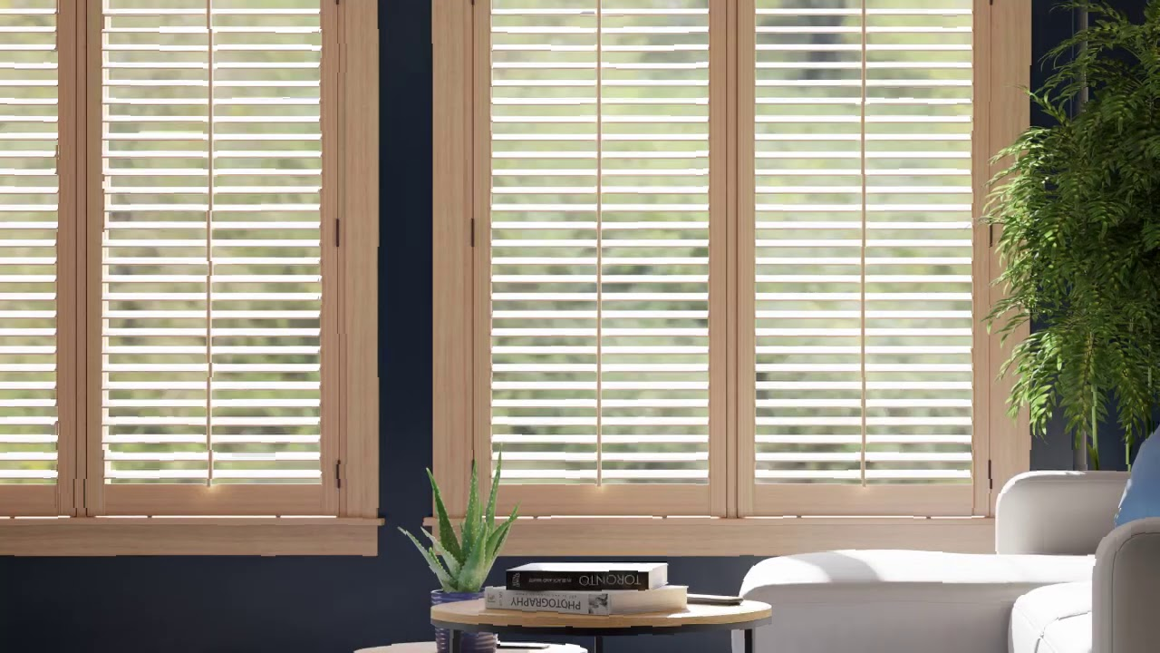 Learn more about the natural beauty of sustainably sourced Bali Wood Blinds and Shutters.