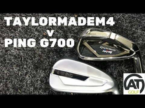 PING G700 V TAYLORMADE M4 IRON