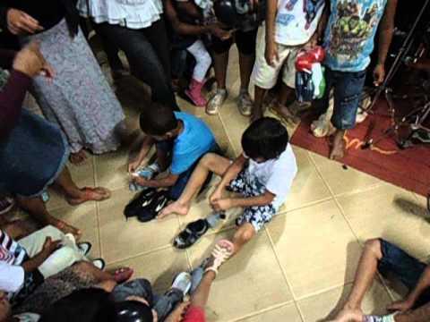 Palhaço Tata em Piracema no dia das crianças.