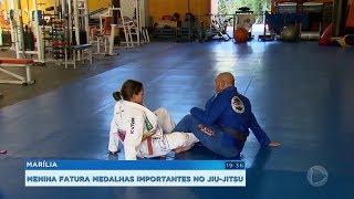 Jovem atleta de Marília conquista importantes resultados no jiu-jitsu