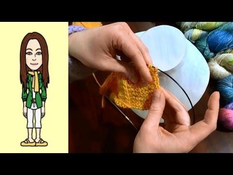 Raglan von oben Strickjacke stricken, das perfekte Knopfloch und feste Randmasche (Teil 2 von 2)