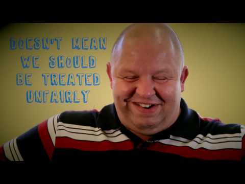 A group of men with learning difficulties have made this film with Fixers encouraging people to celebrate their differences.
