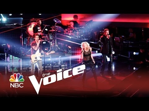 "The Voice 2014 - Adam Levine, Gwen Stefani, Pharell Williams, Blake Shelton: ""Hella Good"""