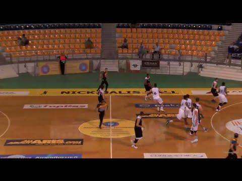 Kavala-Kolossos 63-64 (1st half, 22pts, No 11 white)