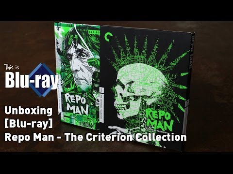 [Blu-ray] Repo Man - The Criterion Collection (Unboxing)