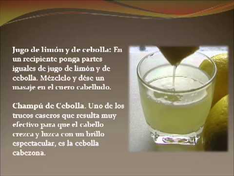 Remedios Caseros para el Cabello con Cebolla [Tratamientos para el Pelo]
