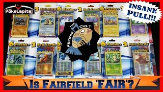 IS FAIRFIELD FAIR? - Opening 36 INSANE Pokemon Card Booster Packs - CUSTOM Booster Box Worth! by ThePokeCapital
