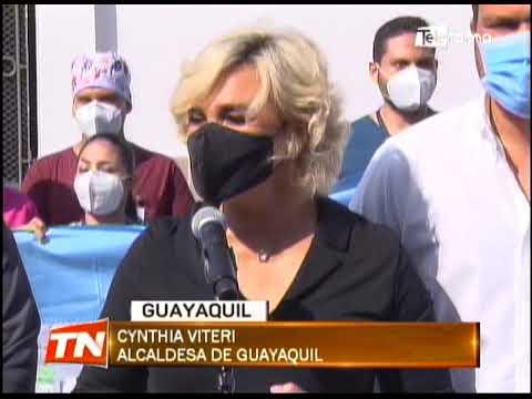 Médicos viajaron a Manabí para atención de pacientes con covid-19