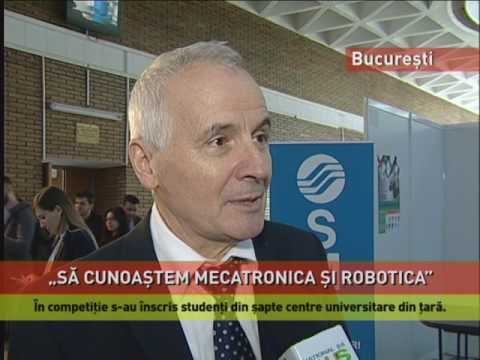 Expoziție-concurs de roboți, la Politehnica din București