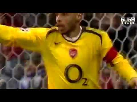 Real Madrid Vs Arsenal 0 1   UCL 2005 2006   Goal & Full Highlights