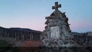 A la découverte du lieu dit Saint Joseph, Villié Morgon, à la tombée du soir ...