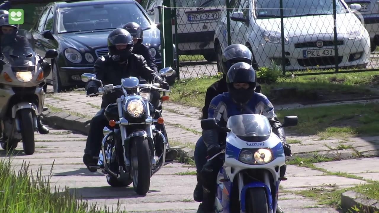 Rozpoczęcie sezonu motocyklowego w Kłodawie
