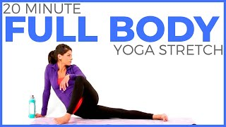 Video 20 minute Full Body Yoga Stretch | Slow Stretch Yoga for Flexibility & Sore Muscles MP3, 3GP, MP4, WEBM, AVI, FLV Maret 2018