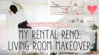 Video MY (MINI) RENTAL RENO   DECORATING MY LIVING ROOM S1 E1 MP3, 3GP, MP4, WEBM, AVI, FLV Juli 2019