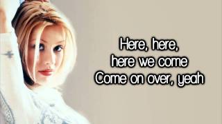 Christina Aguilera - Come On Over (All I Want Is You) [Lyrics] HD