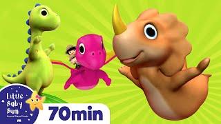Ten Little Dinosaurs   Plus Lots More *Numbers Songs* Nursery Rhymes   72 Mins from LittleBabyBum!
