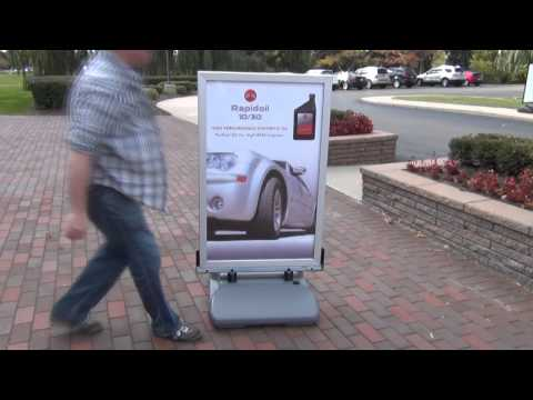 WindMaster® Curb Sign Assembly