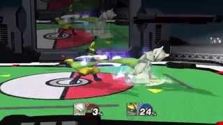 Lucario vs Mewtwo TAS