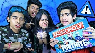 ¡JUGANDO el MONOPOLY de Fortnite! *CASTIGO ELÉCTRICO* - [ANTRAX] ☣