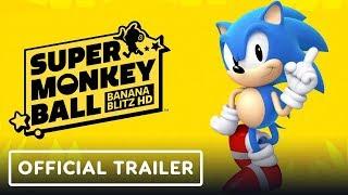 Super Monkey Ball: Banana Blitz HD - Sonic Announcement Trailer by GameTrailers