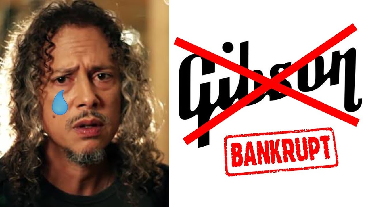 Kirk Hammett On Gibson Bankruptcy & Future Of The Electric Guitar!