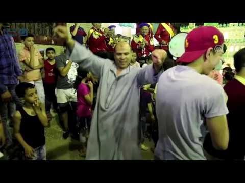 مصر العربية |  احتفالات أهالي قرية البراجيل إبتهاجاً بالشهر الفضيل