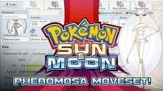 Pheromosa Moveset Guide! How to use Pheromosa! Pokemon Sun and Moon! by PokeaimMD