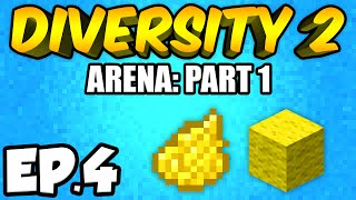 Minecraft: Diversity 2 Ep.4 - SO MANY DIAMONDS!!! (Diversity 2 Arena)