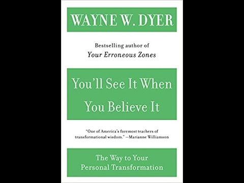 Audiobook: You'll See It When You Believe It by Dr Wayne Dyer