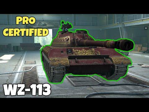 WZ-113: Pros ONLY !