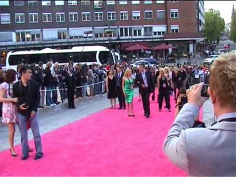 Pink carpet Part #1  (Welcome reception at the townhall in Oslo, ESC 2010)