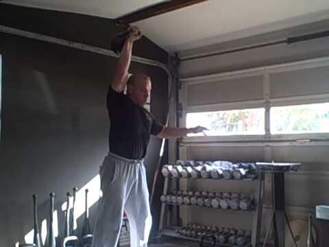 24 kg snatch 1st set of 6,7,8 ladder