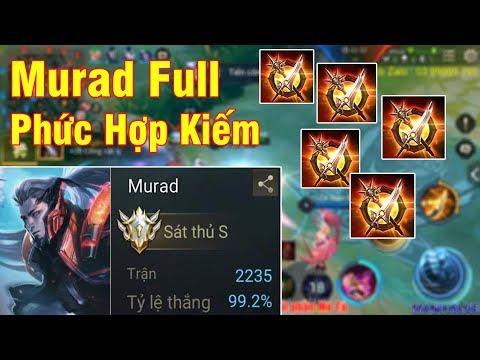 Mạnh Blue Quẩy Murad 2234 Trận 99,2% Tỉ Lệ Thắng Lên Full Phức Hợp Kiếm Sẽ NTN Và Cái Kết - Thời lượng: 16:23.