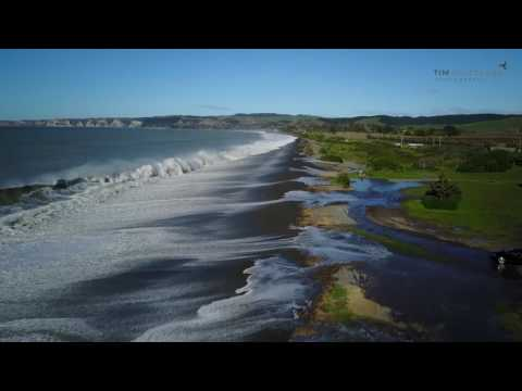 Новая Зеландия. Океан наступает