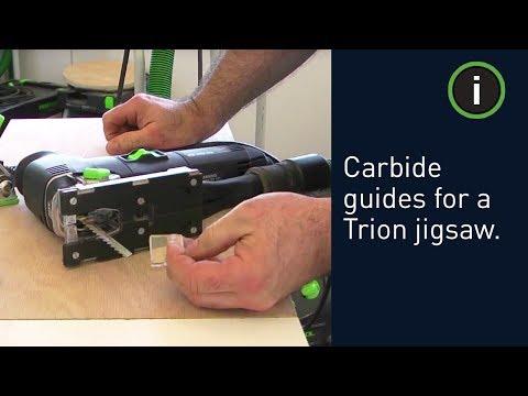 Festool Trion Jigsaw: Carbide Guides